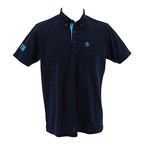 事偽同等のマンシングウェア(Munsingwear) クーリング半袖シャツ MGMLJA25 NV00 ネイビー LL