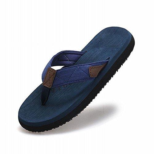 moda antiscivolo RBB uomo infradito occidentale spiaggia piatta da sandali piattaforma estate ciabatte e opaca Infradito da B con qqwft