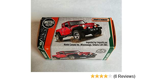 /'17 Jeep Gladiator Matchbox 2017 92-nuevo en caja original