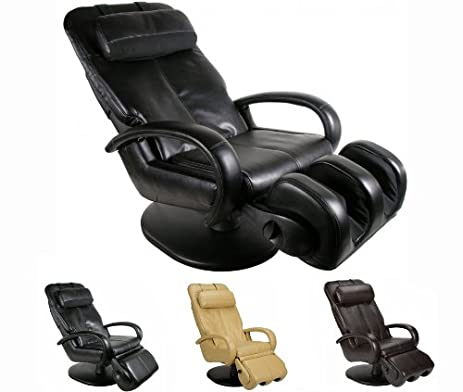 Black Human Touch AcuTouch HT 5040 WholeBody Robotic Massage Chair Recliner  Factory Refurbished Ergonomic Massager