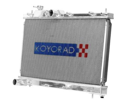 X TBO MT KOYO 53mm ALUMINUM RACING RADIATOR + HYPER CAP (Nismo Nissan Radiator Cap)