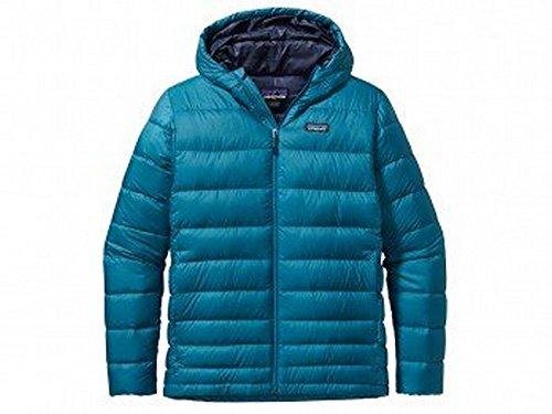 Patagonia Hi-Loft Hooded Down Jacket - Men's Underwater Blue, XL