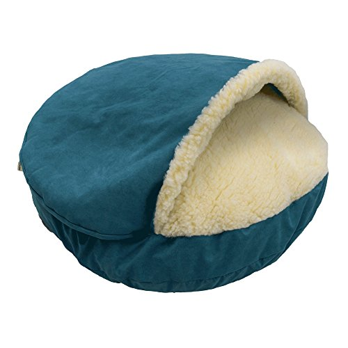 Snoozer Orthopedic Luxury Microsuede Cozy Cave Pet Bed by Snoozer