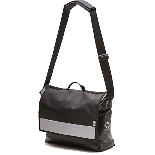 Aqua Quest Manhattan Brief Case / Messenger Bag - Water Resistant - Black & (Expandable Womens Computer Brief)
