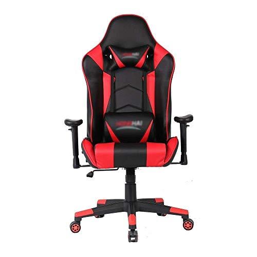 Sillas Gaming Silla for Juegos de Videojuegos sillas de Ordenador de Oficina Silla giratoria Juego Barandilla con la funcion de elevacion for la Oficina de Deportes electronicos