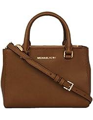 Michael Kors Womens KELLEN XSMALL SATCHEL Leather Shoulder Handbags