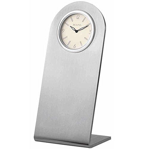 Bulova B5001 Archdale Aluminum Desk (Aluminum Desk Clock)