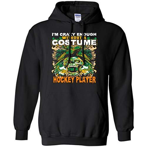 Hockey Player Costume Halloween Funny Gifts Shirt - Hoodie]()
