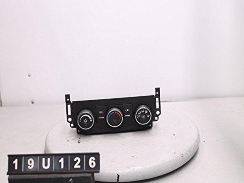 (06 07 08 Chevy Impala Climate Control Panel Temperature Unit A/C)