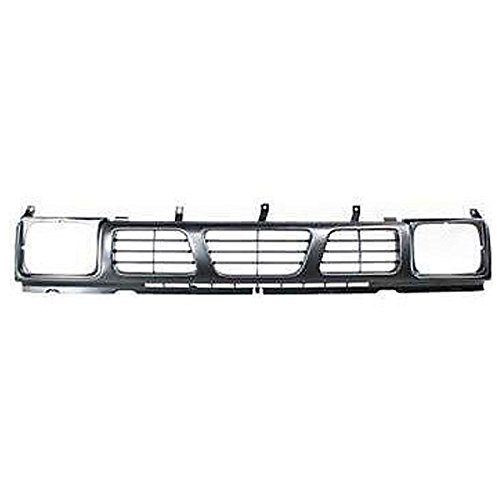 (Koolzap For Front Grill Grille Assembly NI1200115 6231055G00 93-97 Hardbody Pickup Truck)
