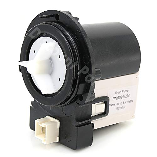 DC31-00054A Washer Drain Pump Water Motor Assembly Replacement Part for Samsung Maytag Kenmore - Replaces DC31-00016A PS4204638 (Amana Model Number)
