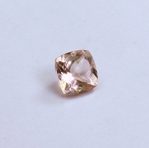 5mm Loose Cushion Cut Morganite Natural Earth mined Not Treated Excellent Cut VS Clarity Peach/Pink Color Loose Gemstone 1 Piece Pink Morganite Natural