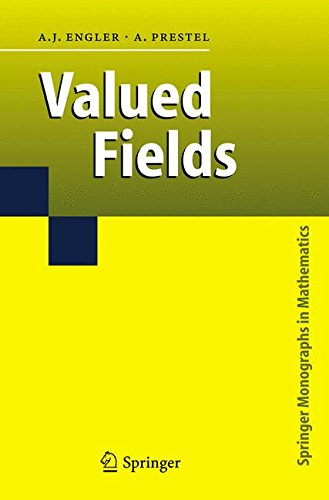 Valued Fields (Springer Monographs in Mathematics)