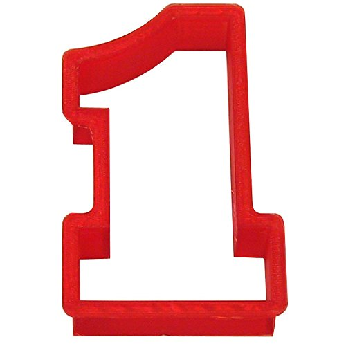 Number One Plasti-cookie Cutter 4