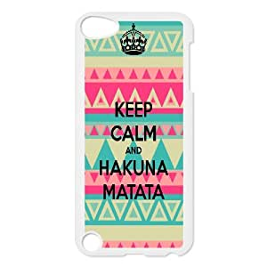 The Lion King Hakuna Matata Hard Snap Phone Case Cover for Ipod Touch 5 case TSL217022