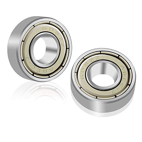608ZZ Roulements à Billes, ABEC 7, 20PCS Speed Bearings Roulements à billes de qualité pour Roller, Skateboard, Longboard, Waveboard, 8 x 22 x 7mm