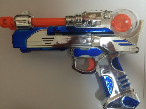 Light-up LED Pistol Gun Laser Blaster with Sounds (Laser Blaster)