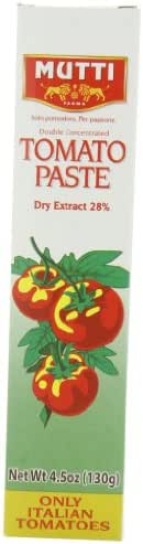 Canned Tomatoes & Paste: Mutti Tomato Paste