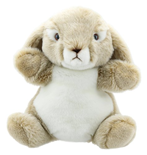 The Puppet Company Cuddly Tumms Wild Rabbit Hand Puppet
