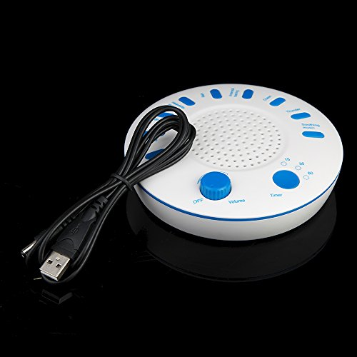 CISNO MY-510S Sound Relaxation Machine with timer, 9 Sounds for Enhanced Sleep, Relaxed Atmosphere and Increased Focus