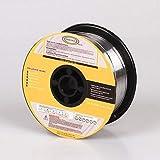 Jammas Stainless Steel Welding Wire ER308 0.8/1.0/1.2mm 0.03/0.04/0.045'' 5KG/11LB Spool Solid SS Rods for MIG Welding - (Diameter: 1.0mm)