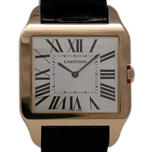 - Cartier Santos Dumont Mechanical-Hand-Wind Male Watch W2006951 (Certified Pre-Owned)