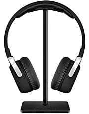 New Bee Hoofdtelefoonstandaard Headsetstandaard Hoofdtelefoonhouder Universeel Aluminium Gaming Headsethouder Oortelefoon Display Oordopjes Bevestiging voor alle hoofdtelefoons (zwart)