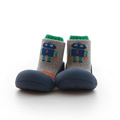 Attipas , {Chaussures premiers pas pour bébé (garçon) bleu bleu 22.5