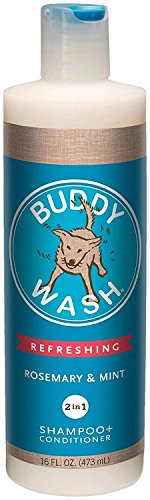 Cloud Star Buddy Wash Rosemary & Mint 2-in-1 Dog Shampoo + Conditioner (Rosemary & Mint, 16 oz.)
