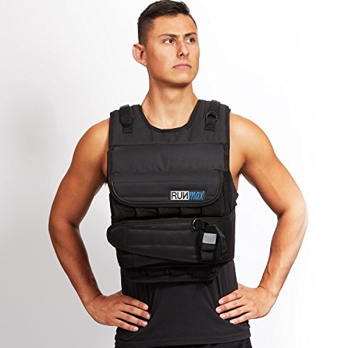 RUNFast Max 12lbs-140lbs Adjustable Weighted Vest