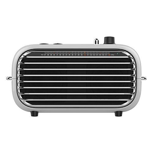 Bluetooth Retro Speaker, LOFREE Poison Vintage Speaker with Bluetooth 4.2/ FM Radio/20W Audio Output/Powerful Bass Enhancement, Wireless Speaker for Travel,Party and Pool