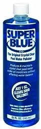 Robarb 20154A Super Blue Swimming Pool Clarifier, 32 Ounce