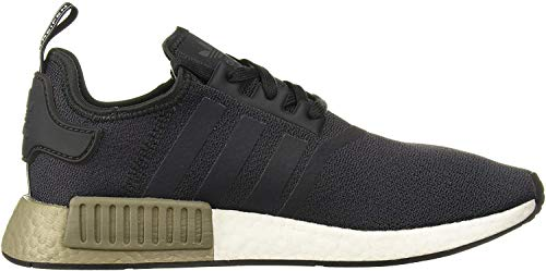 adidas Originals mens Nmd_r1 Running Shoe, Carbon/Carbon/Trace Cargo, 13.5 US