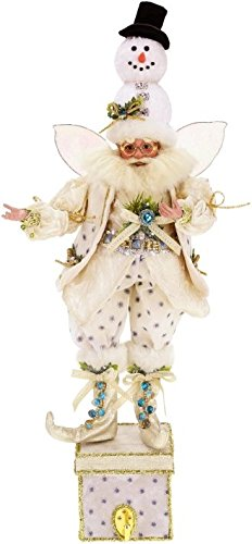 Mark Roberts Let It Snow Fairy Stockingholder 2015 24.5'' by Mark Roberts (Image #1)