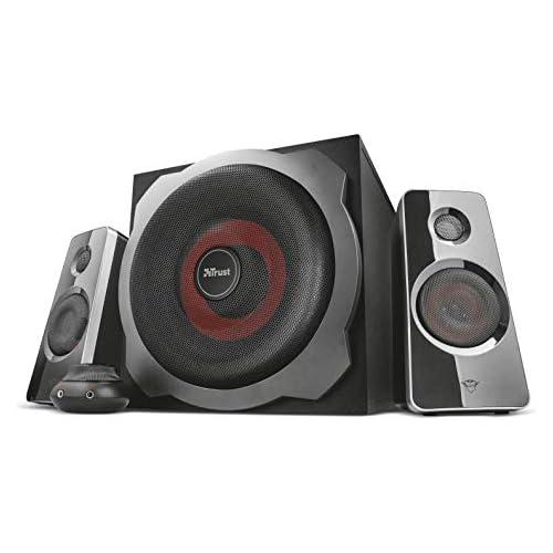 chollos oferta descuentos barato Trust Gaming GXT 4038 Thunder Juego de altavoces 2 1 con subwoofer color negro
