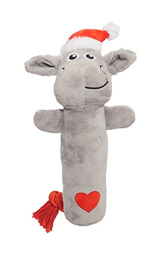 ROSEWOOD Cuddly Lily Lamb Plush Dog Toy, 12.5-Inch