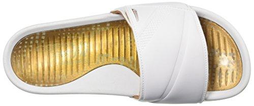 Koper Getailleerde Dames Sandalen Wit