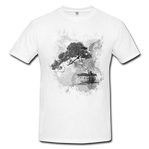 Bonsai I T-Shirt Herren, Men mit stylischen Motiv von Paul Sinus