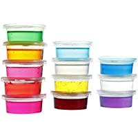 ArtBee 12 Colors Cyrstal Non-Toxic Slime Kit