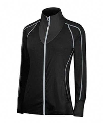 adidas Golf Women's Contrast Stitched Full-Zip Training Top,