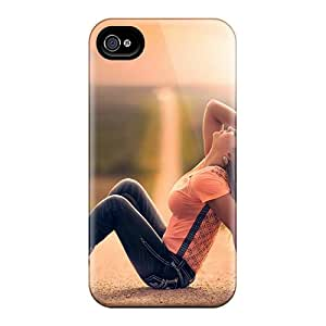 BeverlyVargo Design High Quality Girl On Road Covers Cases With Excellent Style For Iphone 6