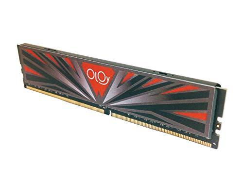 OLOy Memory DDR4 RAM 8GB (1x8GB) 3000 MHz CL16 1.35V 288-Pin Desktop Gaming UDIMM for Intel (MD4U083016IBSB)