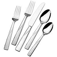 International Silver Loring 51-Piece Stainless Steel Flatware Set
