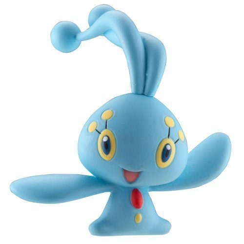 Pokemon Diamond and Pearl All New Series 1 Single Pack Manaphy Figure with Marble - Manaphy Pokemon Diamond Pearl
