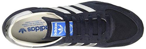 Baskets Adidas Homme Bas Bb1208 Le Trainer Og Bleu Marine