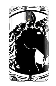 High-quality Durable Protection Case For Galaxy Note 3(unicorn Horse Magical Animal S)