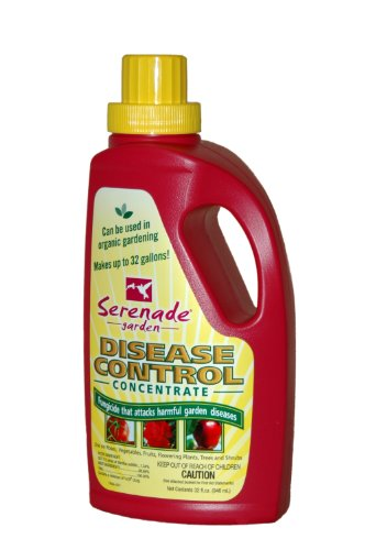 Bayer Advanced 708480 Serenade Garden Disease Control Concentrate, 32-Ounce
