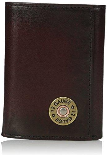 Nocona Men's Tri-fold Bullet Wallet - Brown