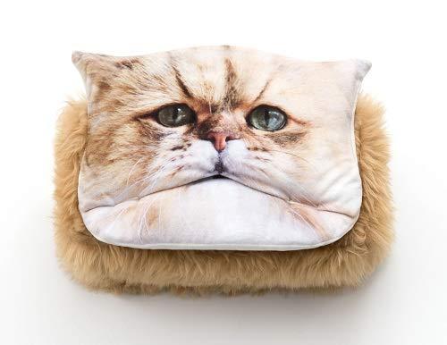 FELISSIMO Fluffy Cat Tissue Box Cover – Cute