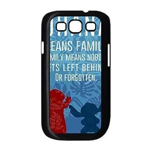 Disneys Lilo And Stitch Samsung Galaxy S3 9 Cell Phone Case Black TPU Phone Case SV_135986